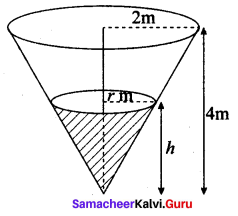 Samacheer Kalvi.Guru 12th Maths Solutions Chapter 7 Applications Of Differential Calculus Ex 7.1