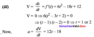 Samacheer Kalvi Guru 12th Maths Solutions Chapter 7 Applications Of Differential Calculus Ex 7.1