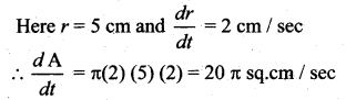 12th Math 7.1 Solutions Chapter 7 Applications Of Differential Calculus Samacheer Kalvi