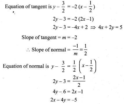 Samacheer Kalvi 12th Maths Solutions Chapter 7 Applications of Differential Calculus Ex 7.2 12