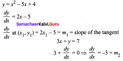 Samacheer Kalvi 12th Maths Solutions Chapter 7 Applications of Differential Calculus Ex 7.2 2