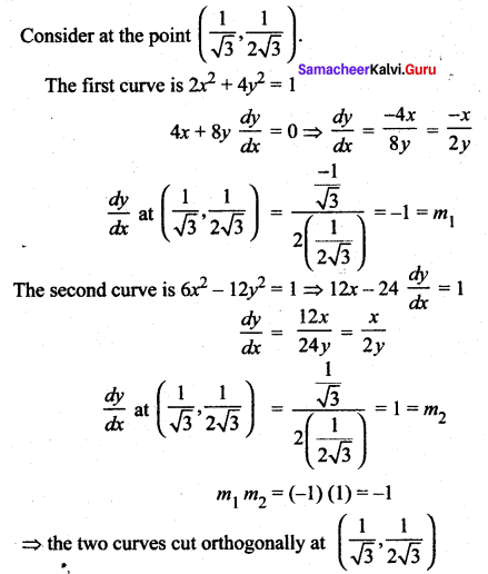 Samacheer Kalvi 12th Maths Solutions Chapter 7 Applications of Differential Calculus Ex 7.2 30
