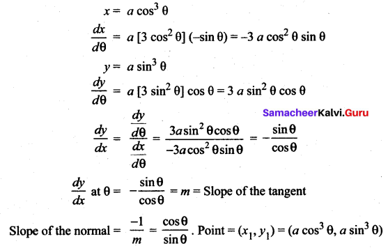 Samacheer Kalvi 12th Maths Solutions Chapter 7 Applications of Differential Calculus Ex 7.2 32