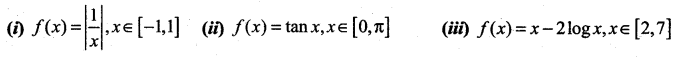 Samacheer Kalvi 12th Maths Solutions Chapter 7 Applications of Differential Calculus Ex 7.3 1