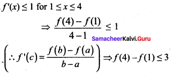 Samacheer Kalvi 12th Maths Solutions Chapter 7 Applications of Differential Calculus Ex 7.3 14