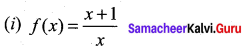 Samacheer Kalvi 12th Maths Solutions Chapter 7 Applications of Differential Calculus Ex 7.3 7