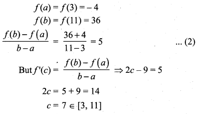 Samacheer Kalvi 12th Maths Solutions Chapter 7 Applications of Differential Calculus Ex 7.3 9