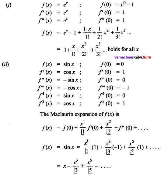 Samacheer Kalvi 12th Maths Solutions Chapter 7 Applications of Differential Calculus Ex 7.4 1