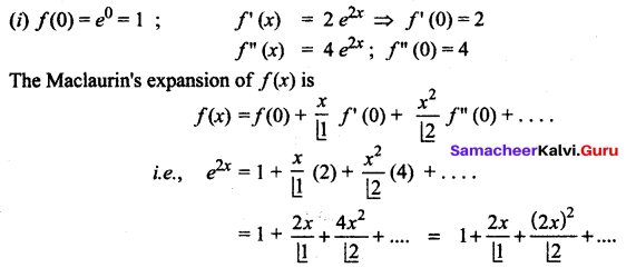Samacheer Kalvi 12th Maths Solutions Chapter 7 Applications of Differential Calculus Ex 7.4 12