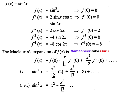 Samacheer Kalvi 12th Maths Solutions Chapter 7 Applications of Differential Calculus Ex 7.4 13
