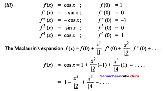 Samacheer Kalvi 12th Maths Solutions Chapter 7 Applications of Differential Calculus Ex 7.4 2