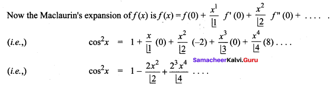 Samacheer Kalvi 12th Maths Solutions Chapter 7 Applications of Differential Calculus Ex 7.4 5