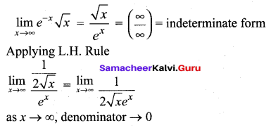 Samacheer Kalvi 12th Maths Solutions Chapter 7 Applications of Differential Calculus Ex 7.5 10