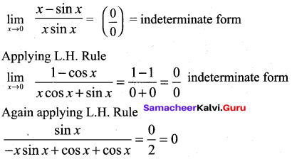 Samacheer Kalvi 12th Maths Solutions Chapter 7 Applications of Differential Calculus Ex 7.5 12