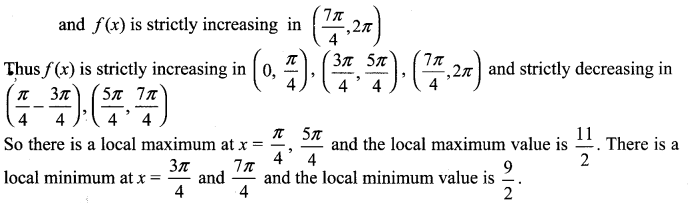 Samacheer Kalvi 12th Maths Solutions Chapter 7 Applications of Differential Calculus Ex 7.6 13