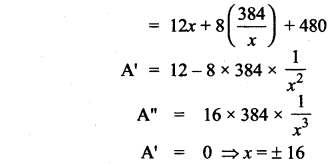 Samacheer Kalvi 12th Maths Solutions Chapter 7 Applications of Differential Calculus Ex 7.8 600