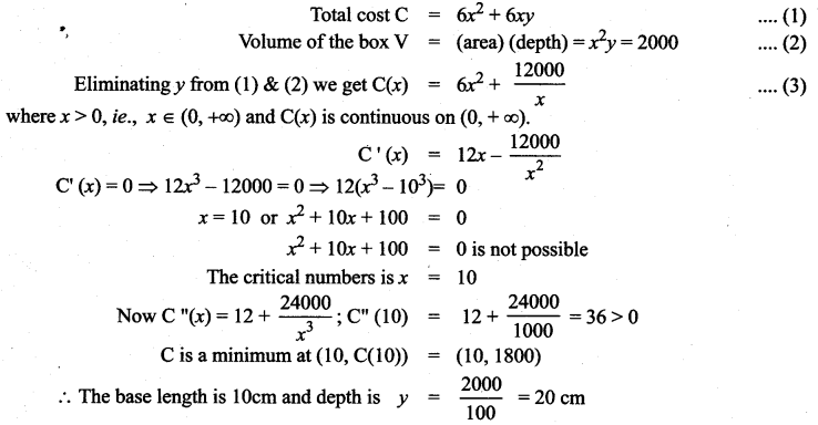 Samacheer Kalvi 12th Maths Solutions Chapter 7 Applications of Differential Calculus Ex 7.8 65