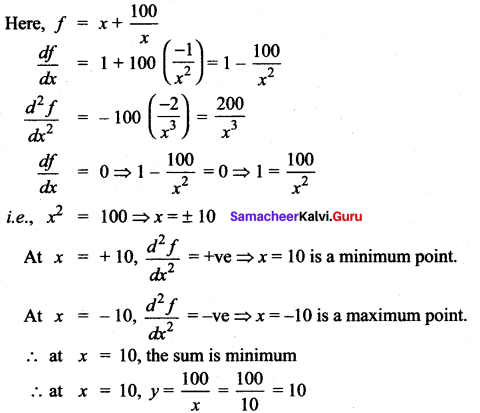 Samacheer Kalvi 12th Maths Solutions Chapter 7 Applications of Differential Calculus Ex 7.8 68