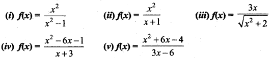 Samacheer Kalvi 12th Maths Solutions Chapter 7 Applications of Differential Calculus Ex 7.9 1