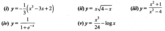 Samacheer Kalvi 12th Maths Solutions Chapter 7 Applications of Differential Calculus Ex 7.9 7