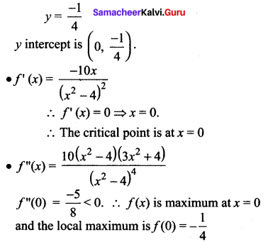 Samacheer Kalvi 12th Maths Solutions Chapter 7 Applications of Differential Calculus Ex 7.9 89