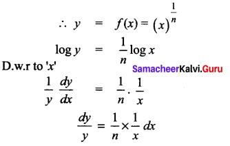 Samacheer Kalvi 12th Maths Solutions Chapter 8 Differentials and Partial Derivatives Ex 8.1 14