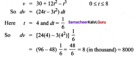 Samacheer Kalvi 12th Maths Solutions Chapter 8 Differentials and Partial Derivatives Ex 8.2 26