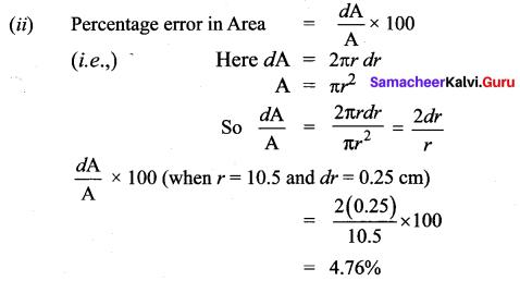 Samacheer Kalvi 12th Maths Solutions Chapter 8 Differentials and Partial Derivatives Ex 8.2 28