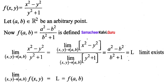 Samacheer Kalvi 12th Maths Solutions Chapter 8 Differentials and Partial Derivatives Ex 8.3 13