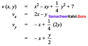 Samacheer Kalvi 12th Maths Solutions Chapter 8 Differentials and Partial Derivatives Ex 8.5 4