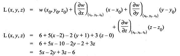 Samacheer Kalvi 12th Maths Solutions Chapter 8 Differentials and Partial Derivatives Ex 8.5 6