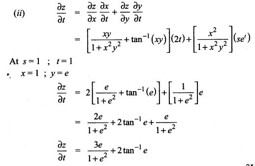 Samacheer Kalvi 12th Maths Solutions Chapter 8 Differentials and Partial Derivatives Ex 8.6 11