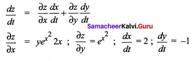 Samacheer Kalvi 12th Maths Solutions Chapter 8 Differentials and Partial Derivatives Ex 8.6 19
