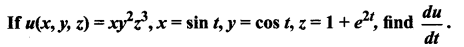 Samacheer Kalvi 12th Maths Solutions Chapter 8 Differentials and Partial Derivatives Ex 8.6 3