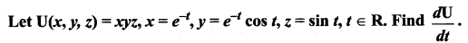 Samacheer Kalvi 12th Maths Solutions Chapter 8 Differentials and Partial Derivatives Ex 8.6 6