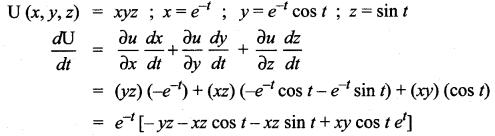 Samacheer Kalvi 12th Maths Solutions Chapter 8 Differentials and Partial Derivatives Ex 8.6 7