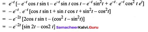 Samacheer Kalvi 12th Maths Solutions Chapter 8 Differentials and Partial Derivatives Ex 8.6 8