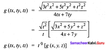 Samacheer Kalvi 12th Maths Solutions Chapter 8 Differentials and Partial Derivatives Ex 8.7 5