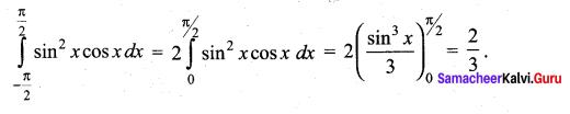 Samacheer Kalvi 12th Maths Solutions Chapter 9 Applications of Integration Ex 9.10 13