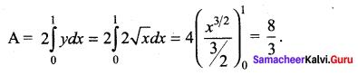 Samacheer Kalvi 12th Maths Solutions Chapter 9 Applications of Integration Ex 9.10 19