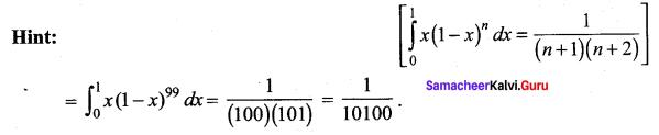 Samacheer Kalvi 12th Maths Solutions Chapter 9 Applications of Integration Ex 9.10 22