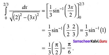Samacheer Kalvi 12th Maths Solutions Chapter 9 Applications of Integration Ex 9.10 3