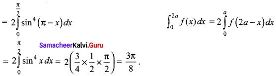 Samacheer Kalvi 12th Maths Solutions Chapter 9 Applications of Integration Ex 9.10 33