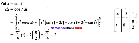 Samacheer Kalvi 12th Maths Solutions Chapter 9 Applications of Integration Ex 9.10 45