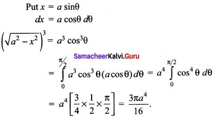 Samacheer Kalvi 12th Maths Solutions Chapter 9 Applications of Integration Ex 9.10 48
