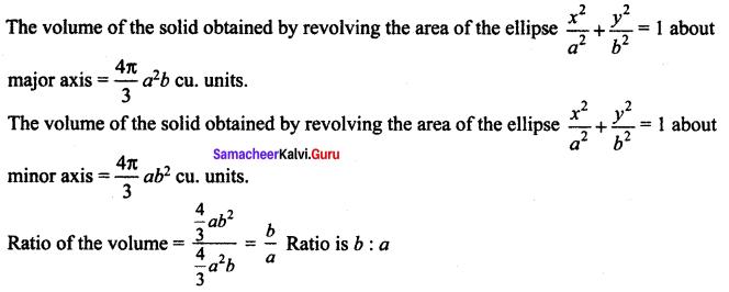 Samacheer Kalvi 12th Maths Solutions Chapter 9 Applications of Integration Ex 9.10 65