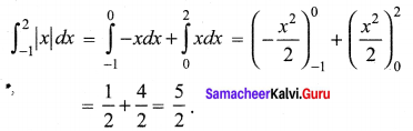 Samacheer Kalvi 12th Maths Solutions Chapter 9 Applications of Integration Ex 9.10 7