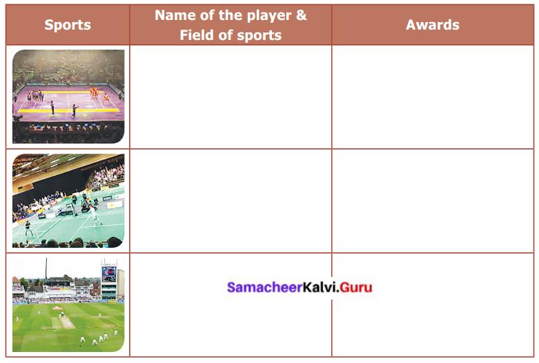 Sports Stars 6th English Samacheer Kalvi Term 2 Prose Chapter 1