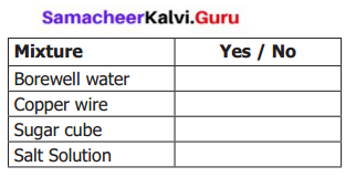 Samacheer Kalvi 6th Science Solutions Term 1 Chapter 3 Matter Around Us 17