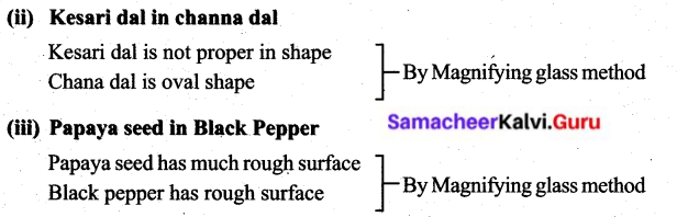 Samacheer Kalvi 6th Science Solutions Term 1 Chapter 3 Matter Around Us 21